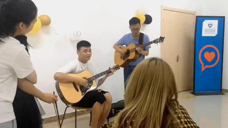 奥克兰大学Viola同学中国学习中心vlog