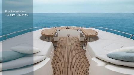 蒙地卡罗游艇 - MCY 70天空走廊 - 船艏休闲区