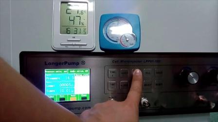 兰格皮升泵LPP01-100(细胞注射器)基础操作演示