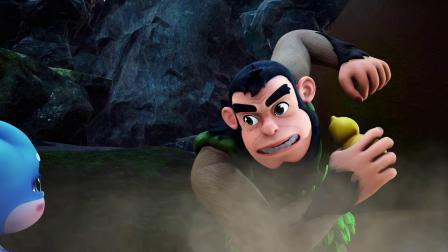 泗宝朱雀与醉猿的打斗