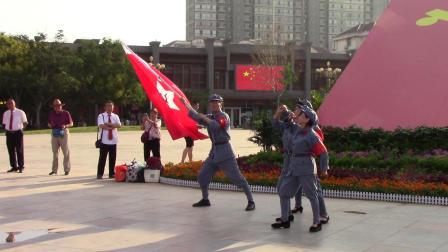 《红军赞歌》大树张扬丽艳团队临汾鼓楼合唱艺术团20210710