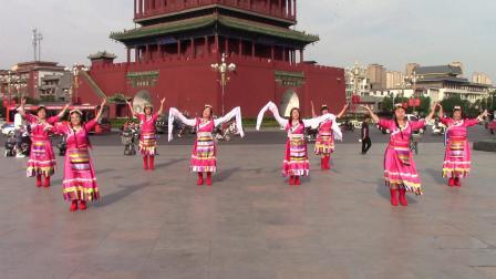 《再唱山歌给党听》杨丽艳团队临汾鼓楼合唱团20210710