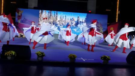林海雪原片段《打虎上山》旗袍一班