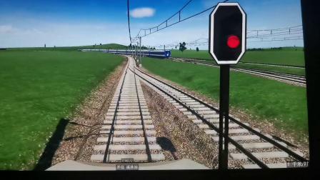 【狂热运输•铁路】个人地图•中央干线前方展望(2倍速)