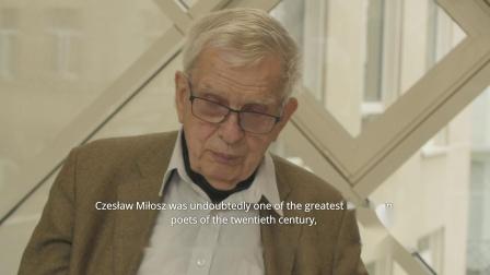 立陶宛诗人托马斯·温茨洛瓦谈米沃什