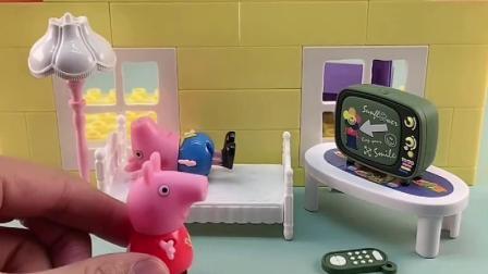 少儿亲子玩具: 佩奇唱歌和乔治唱歌的不同待遇