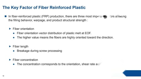 BASF Long Glass Fiber LGF Material Study and Injected Length Prediction