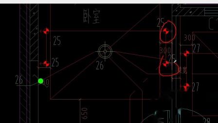 精装房子装修电气平面图认识