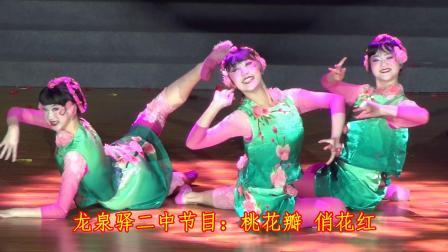 龙泉驿二中节目:桃花瓣 俏花红