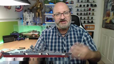 俾斯麦建造计划:8 -舰艏甲板细节