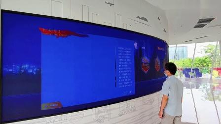 惊艳!LED天幕助力深圳欢乐港湾项目,打造首个沉浸式的党群服务中心