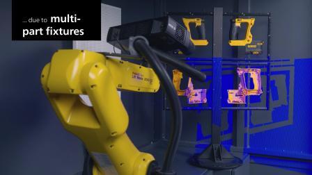 GOM Scanbox_三维扫描仪 3D量测 高效自动化