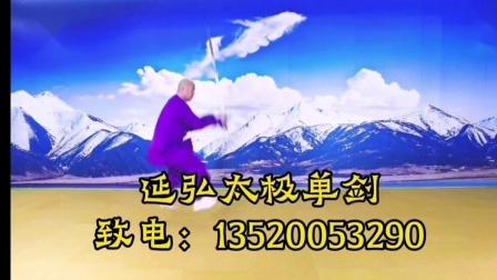 释延弘陈氏太极单剑