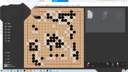 自战解说→【对AI星阵围棋5段+局后分析】