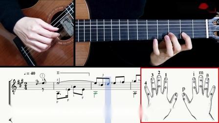 鸽子-吉他带谱教学-有谱-GQ313-12
