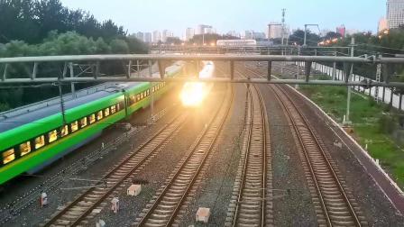 【火车视频集锦】北京南站记京沪夜行直特快群
