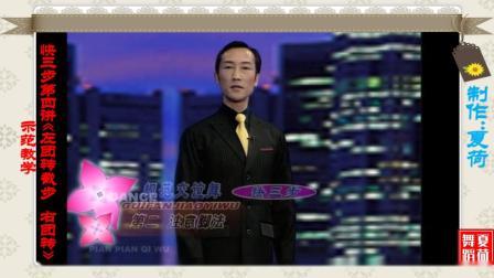 中国体育舞蹈联合会摩登舞一级教师(彭伟&王金玲)快三步第四讲《左团转截步 右团转》示范教学
