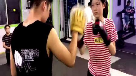 上海王敏拳击之羽山店战队