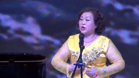 女声独唱《北大荒人的歌》 演唱:陈中君 钢琴伴奏:刘玉洁 摄像:李明