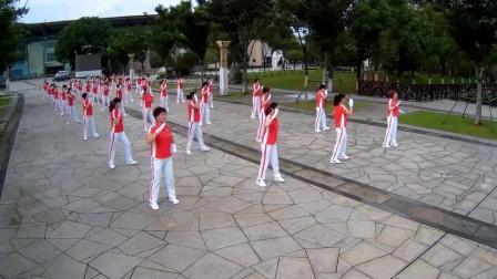 淄博临淄齐园舞动青春第十八套行进式有氧健身操 淄博飞歌影视传媒