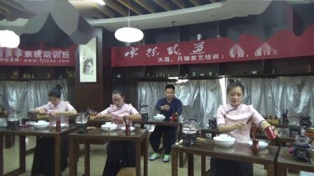 天晟168期集体安溪茶艺表演