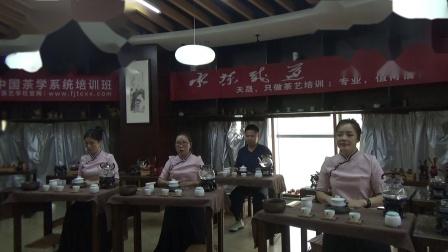 天晟168期集体茶修之行茶十式茶艺表演