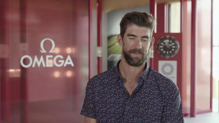 欧米茄正式计时 | 与迈克尔·菲尔普斯Michael Phelps共享时光