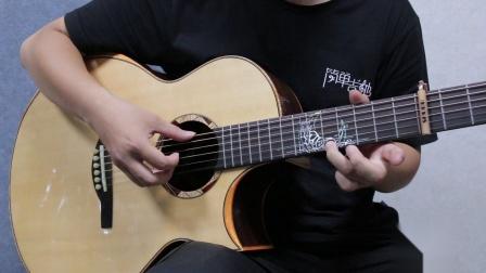 唯美治愈的指弹曲 GIN 《愿樱》吉他独奏