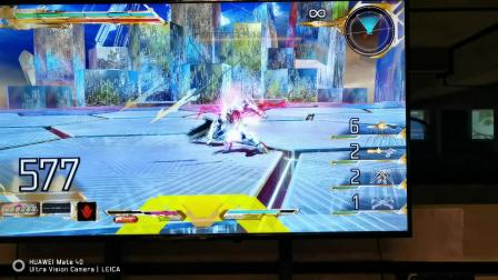 高达EXVS竞技场实战—第一次玩主机游戏