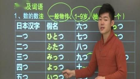 新东方标准日语第13课