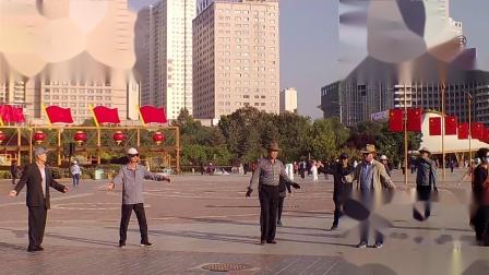 西宁中心广场藏族锅庄视频447