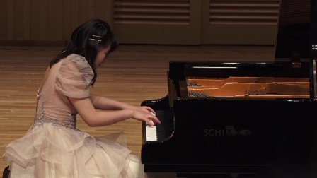 王子涵  肖邦《练习曲-大海》Op.25No.12