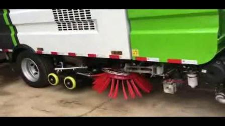 瞧!能吃小石头、沙子、灰尘的大怪兽=====国六多功能吸尘车、扫路车、洗扫车