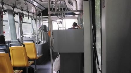 巴士二公司:闵行30路公交车W0G-0091.富卓路银春路→莘庄地铁站(南广场)下客站全程