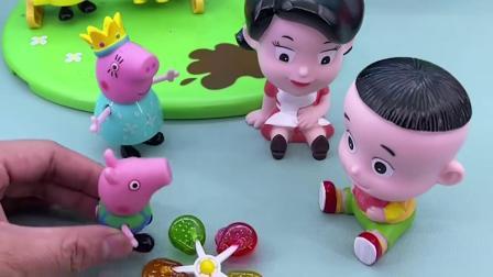 儿童玩具:猪爸爸怎么跑到大鳄鱼嘴里了?