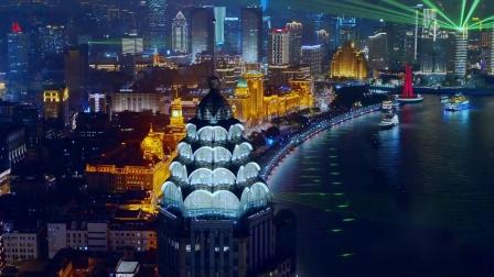 2021上海黄浦江主题光影秀