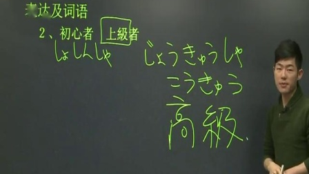 新东方标准日语第19课