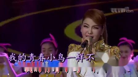 青春舞曲(伴奏)-乌兰图雅-双行字幕-超清-王新民制作
