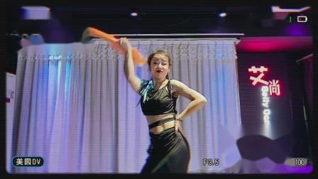 河南艾尚教练班舞蹈《夕阳醉了》复古版.MP4