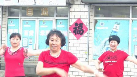 酒醉的蝴蝶,广场舞,夹河金玛超市广场舞队