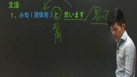 新东方标准日语第24课