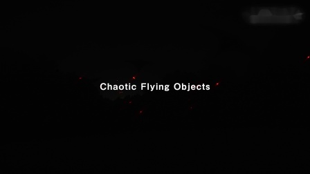 Chaotic Flying Objects