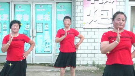 我是真的不想变老,广场舞,夹河金玛超市广场舞队
