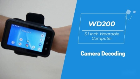unitech WD200穿戴式行动电脑_NFC_摄像头_解码视频