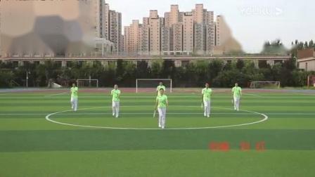 华柔健身四套《梦想之光》集体正面示范 创编 刘红_标清