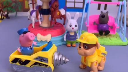 益智玩具:小汽车要送小朋友们去学校,可是没油了