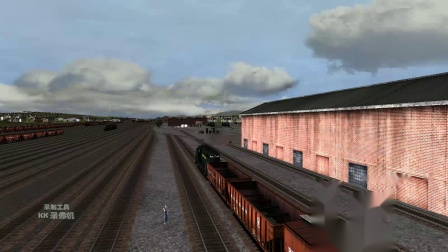 1953年 模拟火车2013【换了人间】EMD GP7 PRR 黎明切换列车