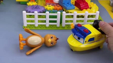 少儿玩具:原来小鸡也喜欢吃糖