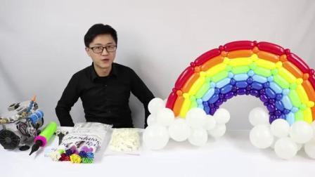 气球造型 小型彩虹编织