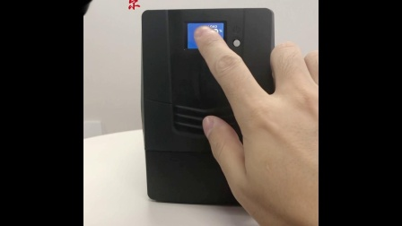 海迪尔K1000电脑停电备用UPS不间断电源展示